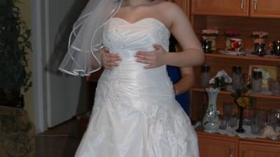 Suknia śluba rozm.uniwersalny