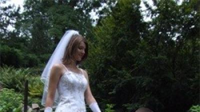 Suknia ślubna 2-częściowa