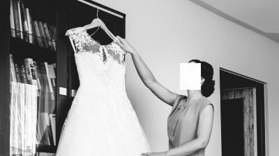 Suknia ślubna 34/36 Madonna Aspazja Vanilla Sposa koronka