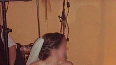 Suknia ślubna 36-38, delikatnie kremowa, +buty