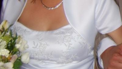 suknia ślubna  36-40, 160 cm