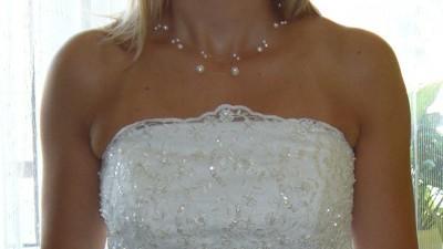 Suknia ślubna 36 ivory - na wzór DEMETRIOS 9700