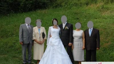 suknia ślubna 38/40 biała Gliwice
