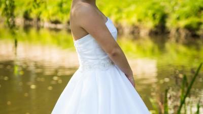 suknia ślubna 800 zł