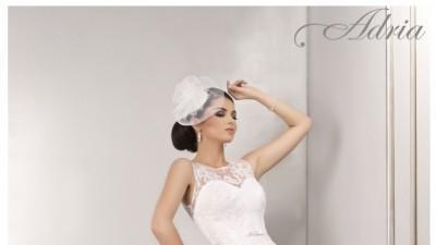 suknia ślubna Adria 36/34 śnieznobiała 1303