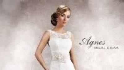 Suknia ślubna Agnes 11350 z dodatkami - ślub odbył się 26.04.2014
