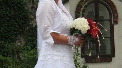 Suknia ślubna Agnes 38/40, 164+5 cm