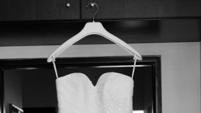 Suknia ślubna Agnes - krótki przód, długi tył - model 11381