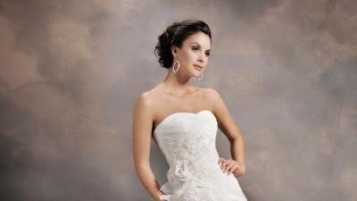 Suknia ślubna AGNES model 10493, rozmiar 40 , falbany,WARTO :)