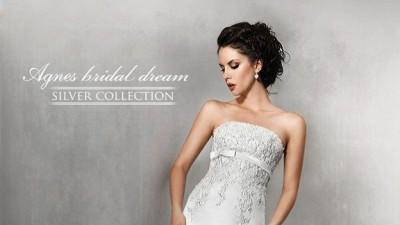 Suknia ślubna Agnes Silver Collection 10226