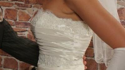 Suknia slubna AGORA, kolekcja 2007