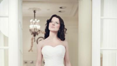 suknia ślubna Angel model Cascada