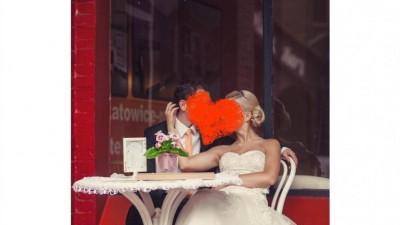SUKNIA ŚLUBNA ANNAIS BRIDAL - FOLIE , KOLEKCJA LOVE
