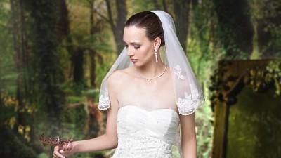 suknia ślubna annais bridal natalie (welon i bolerko gratis)