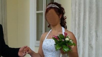 """Suknia ślubna ASPERA """"Bride"""" 2008 rozm 38/40"""