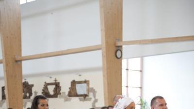 Suknia ślubna ASPERA BRIDE 4366 + kapelusz i bolerko (ew.buty)