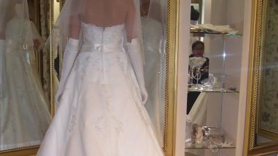Suknia ślubna Atelier Diagonal 820-Nowa Likwidacja Salonu Ślubnego