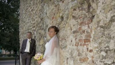 Suknia ślubna Atelier Diagonal 820, rozmiar 38-40