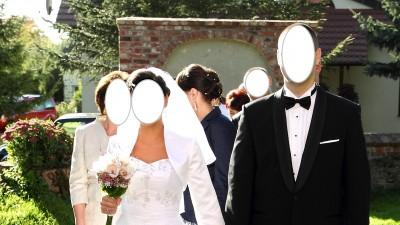 Suknia ślubna AVOCAT MISS KELLY 36/38 - OKAZAJA