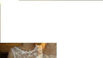 Suknia ślubna bardzo efektowna , portugalska koronka