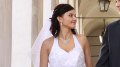 Suknia ślubna bardzo szykowna