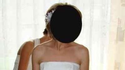 śuknia ślubna - bardzo tanio!!!!
