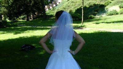 Suknia Slubna biała