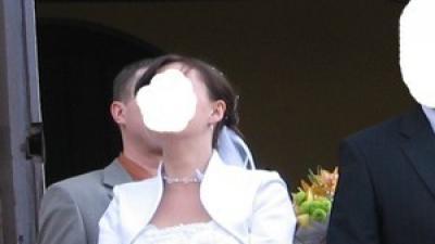 Suknia ślubna biała 2-cz Dona