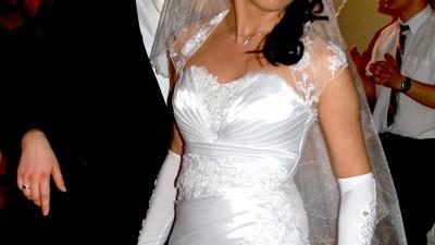 Suknia ślubna biała 36 170cm Kraków/Tarnów