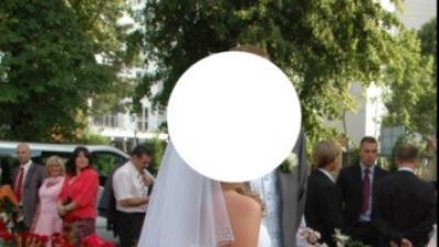 Suknia slubna biała 36/38