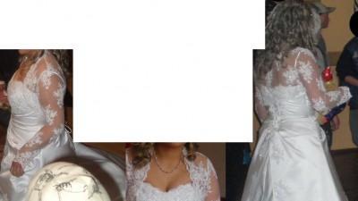 suknia ślubna BIaŁa 40!!!