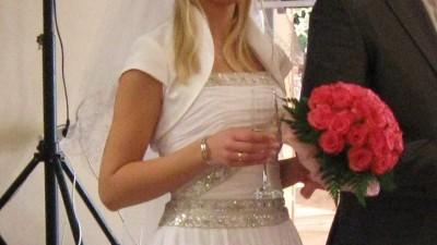 suknia ślubna - biała