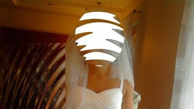 Suknia ślubna biała firmy Sarah 400 zł