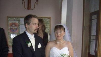 """Suknia ślubna biała ,,Laura"""""""
