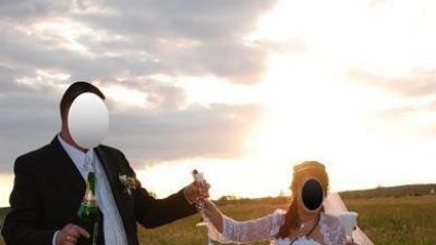 Suknia ślubna, biała Mateja