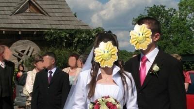 Suknia ślubna biała r.38 szyta na wzór La Sposa Fina