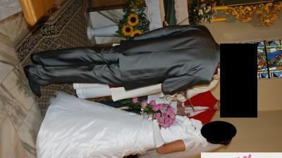 Suknia ślubna biała rozm.38