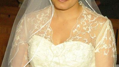 Suknia ślubna biała rozm 40