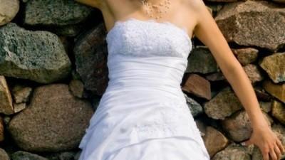 Suknia ślubna biała rozmiar 38 Aizza z kolekcji Gala