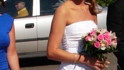 Suknia Slubna biała vanilla sposa sposabella