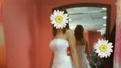 SUKNIA ŚLUBNA biała Z SALONU KARINA model ERIS