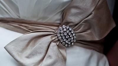 Suknia ślubna + bolerko + buty Justin Alexander 8388 rozm. 40