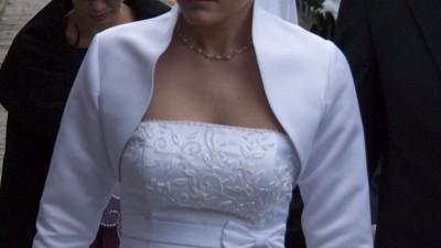 Suknia ślubna + bolerko gratis