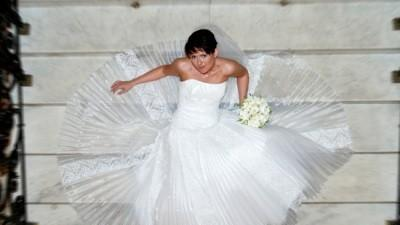 Suknia ślubna + bolerko  sezon 2009