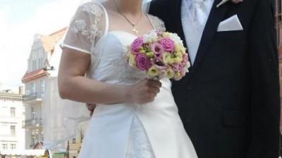 Suknia ślubna Brazylijka Ecru rozmiar 40 42 Toruń Gdańsk