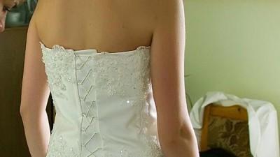 suknia ślubna +buty