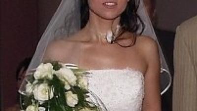 Suknia ślubna CHANEL  roz. 34/36, dla drobnych, filigranowych dziewczyn.