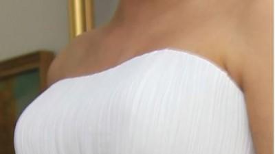 Suknia ślubna. Ciążowa.