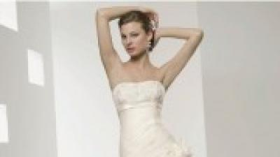 Suknia ślubna- CIEKAWA, NIEZWYKŁA, KOBIECA