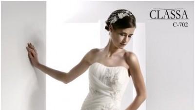 Suknia ślubna CLASSA C-702